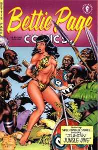 bettie_page_comics_no1_1996_dark_horse_dave_stevens_cover