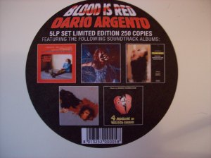 5 LP set of Argento soundtracks