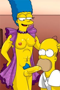 Marge have penis? That's unpossible.